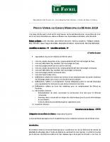 PV Conseil Municipal du 08.04.2019