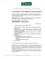 2019 11 29 – PV Conseil Municipal du 29.11.2019