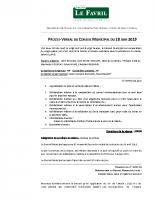 PV Conseil Municipal du 28/06