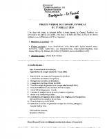 PV du SIRP du 17 07 2020